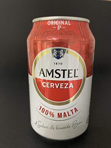 Bier Amstel Original 24x33cl (Pack 24 Dosen)