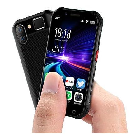 SOYES S10 アウトドア スマートフォン SIMフリー 4Gスマホ本体 3.0インチ リア5MPカメラ フロント5MPカメラ 3GB 32GB Android6.0 1900mAh GPS NFC PTT SOS 防水/防塵/耐衝撃 顔認証 指紋認証 スマートフォン本体 (赤)