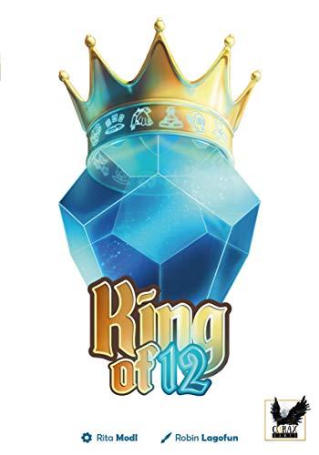 Corax Games King of 12 Schnelles Kartenspiel mit Würfel Deutsch