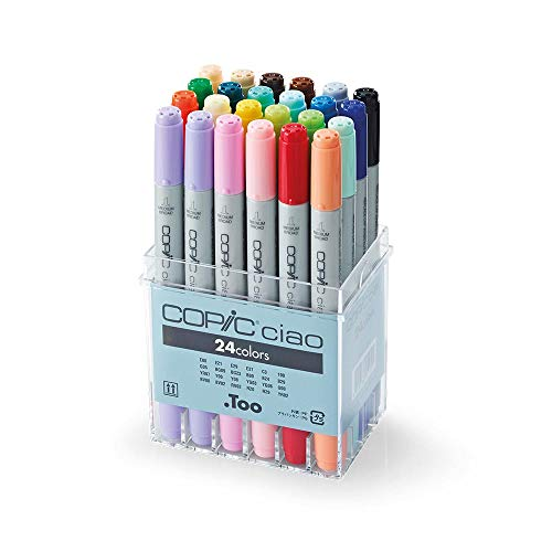 Copic Ciao Markers 24pc Basic Set