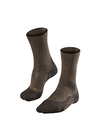 Falke TK2 Wool Chaussettes de Trekking Homme, Dark Brown, 42-43