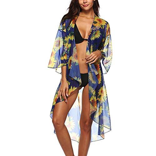 hxl Ropa De Abrigo para Mujer Vestido De Playa Bohemia Traje De Baño para La Playa Ropa De Playa Bikini Bañador