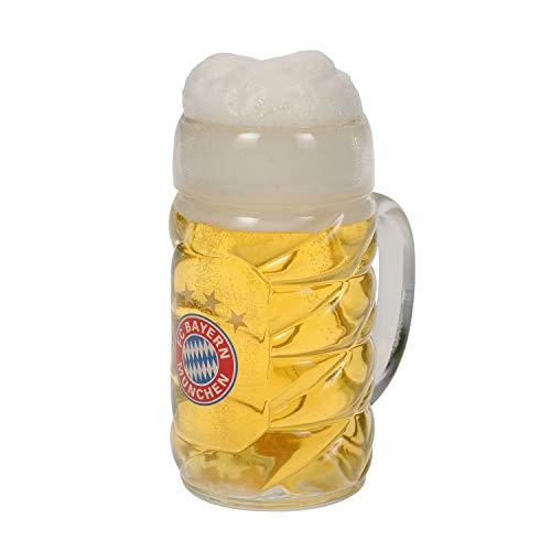 München FC Bayern Half Meting Tank/Bier Tank/Tankard 0,5 l - Plus Bookmark I Love