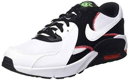 Nike Unisex Kids Nike Air Max Excee (Gs) Running shoe, White White Black...