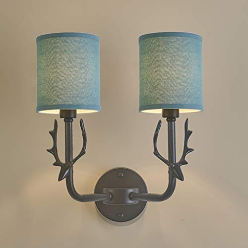 Jiji wandlamp, E14, modern, minimalistisch, wandlamp, slaapkamer, woonkamer, allee, bedlampje, stof, lampenkap