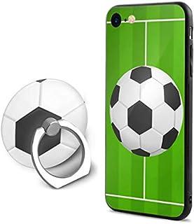 スポーツボールサッカーサッカー IPhone 7/8 携帯電話シェルリングブラケット人気 携帯ケース フォンケース Apple 7/8 男女兼用