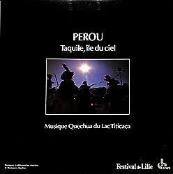 ペルー天国の島タキーレ ティカティカ湖のケチュア族の音楽(FRANCE OCORA ORIGINAL,558651)(長岡鉄男の外盤A級)[民族音楽][LP盤]