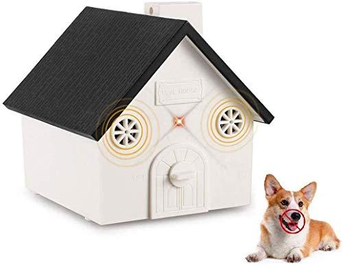 16.4 Ft Range Pet Corrector Dog Silencer Stop Barking GoRuby 3-in-1 Anti Barking Device Ultrasonic Dog Bark Control Deterrent with Dog Whistle /& Dog Clicker Multi Frequency Dog Training Set