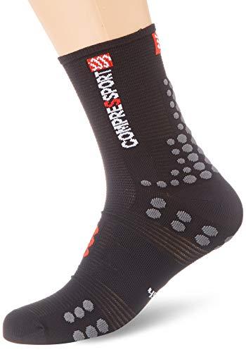 Compressport - COMPRESSPORT - Chaussettes - RACING SOCKS V3.0 BIKE SMART Noir - tailles : T3