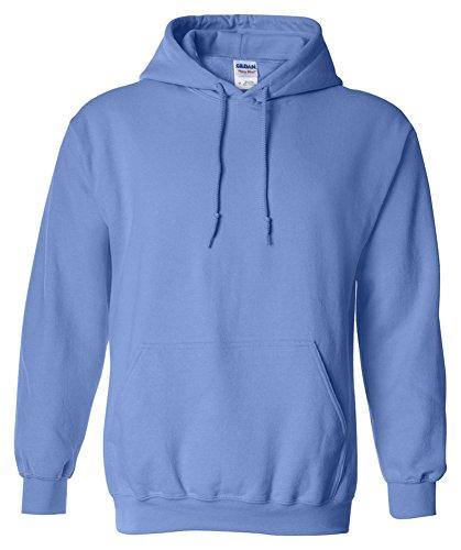 Gildan Heavy Blend Adult Hooded Sweatshirt, Violet, XXX-Large