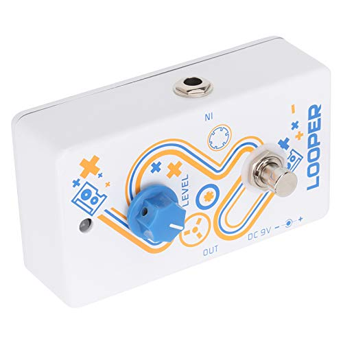 July Summer Gifts Electric Guitar Looper Pedal, Light In Weight Convenient Guitar Effect Pedal for Guitarists for External Performances for Music Lovers for Music Club