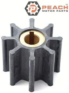 Peach Motor Parts PM-4598-0001 Impeller, Water Pump (Neoprene); Replaces Jabsco: 4598-0001, 4598-0001-P, 2820-0001, 4648-0001, Sherwood: 10187, Volvo: 818680, Oberdorfer: 6603, Sierra: 18- Made b