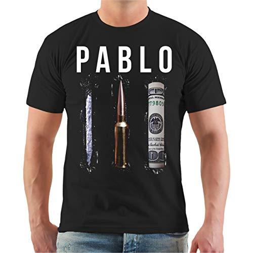 Männer und Herren Tshirt Crime Money Cocaine Rockn Roll Größe S bis 8XL