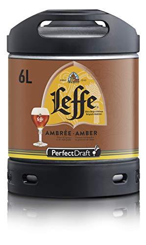 Bier PerfectDraft 1 x 6-Liter Fass Leffe Ambrée Bier - Pale Ale. Zapfanlage für Zuhause. Inklusive 5 Euro Pfand.