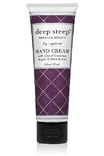 Deep Steep Crème pour les mains, 56,7 gram, Figue, Abricot