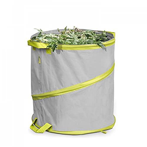 Lesto Sac de Jardin Gris Rond 47 x 50 cm Polyester
