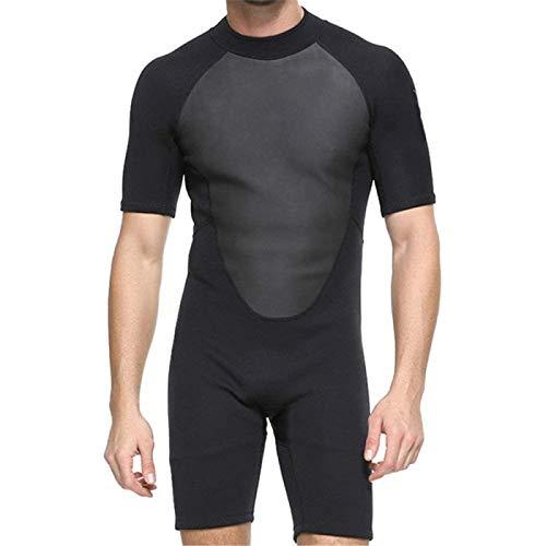 Traje de Neopreno para Hombre Traje de Buceo Completo de Goma de 2 Mm para Hombre Buceo Natación Surf Vela para Surf Buceo,Xlarge