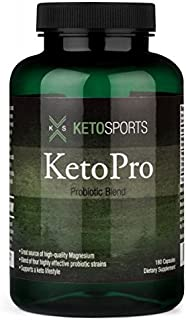 Sponsored Ad - KetoPro Probiotic with Magnesium, 180 ct