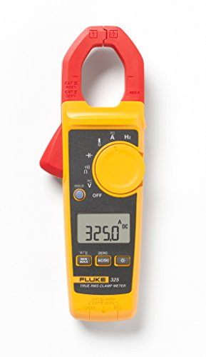 Fluke 325 Pinza amperometrica, Multimetro portatile digitale CAT III 600 V, CAT IV 300 V Display (Counts): 4000