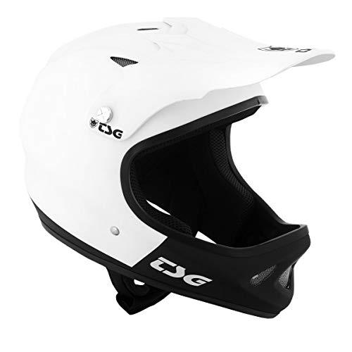TSG Helm Helmet-fullface Staten-graphic-design-fmb-world-tour, flatwhite-flatblack, 57-59cm, 750051
