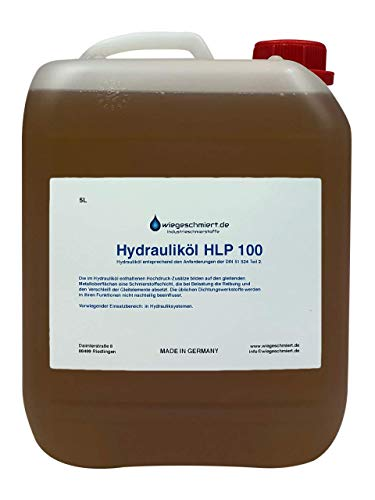 Hydrauliköl HLP 100 ISO VG 100 nach DIN 51524 Teil 2 (5 Liter)