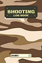 Shooting Log Book Military MULTICAM ARID Cover: Long Range Shooting Handbook Target Handloading Log Book Range Shooting Book Target Diagram Shooting Record Book
