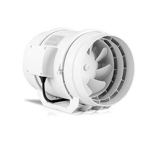 ZYING Mitigación Modelo de Ventilador, Cable de alimentación del Ventilador de Escape, mínimo Consumo de energía, Sistemas de ventilación Extintor Baño Extintor de 12 Pulgadas