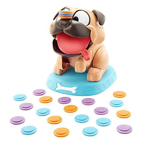 Mattel Games Puglicious Kids Game for 5 Years Olds & Up