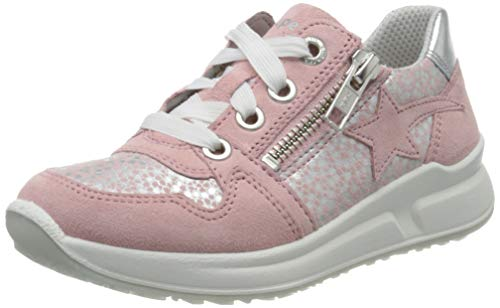 Superfit Mädchen Merida Sneaker, Pink (ROSA 55), 29 EU