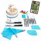Fasi Cake Design Kit - Set Pasticceria per Decorazioni Torte con sac a Poche Professionali, 69 Pezzi