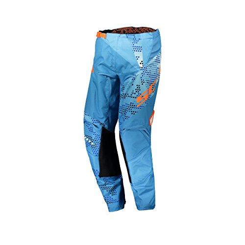 Scott 350 Race Pantalon de Motocross Kids 2018 24 Bleu/Orange