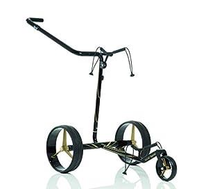 JuCad Carbon Travel Special Golf Trolley I Golf Caddy I Elektrisch I Special Edition