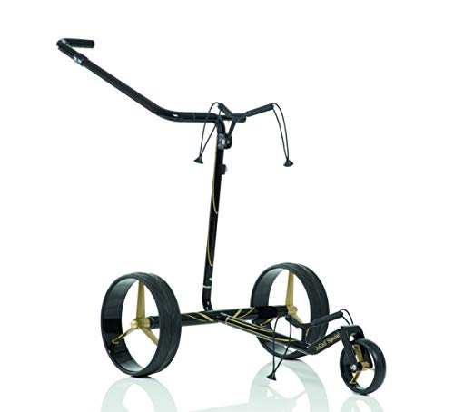 JuCad Carbon Travel Special Golf Trolley I Golf Caddy I Elektrisch I Special Edition