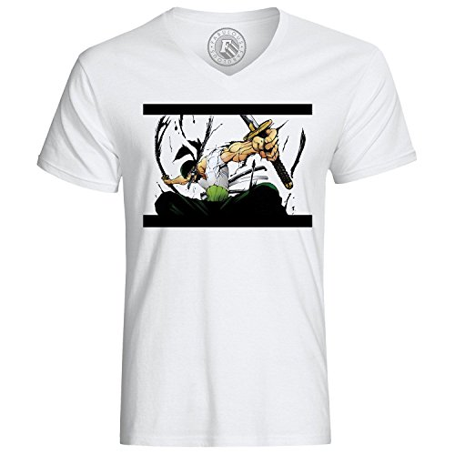 T-Shirt Zoro Roronoa Head Hunter One Piece Manga Anime