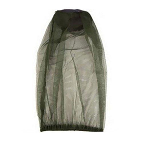 MagiDeal Chapeau de Pêcheur avec Masque en Filet Protecteur Anti Moustique Insecte Abeille Camouflage