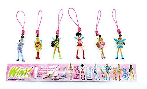 Kinder Überraschung Winx Club Figuren als Anhänger von der Firma Dolci Preziosi mit 1 BPZ