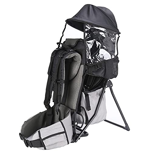 Baby Toddler Hiking Backpack Carrier with Rain Cover