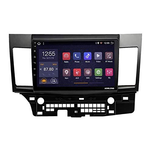 WY-CAR Android 8.1 10.1 Pulgadas HD Unidad De Navegación GPS con Pantalla Táctil para Mitsubishi Lancer Ex 2008-2015, Bluetooth/FM/Controles del Volante/Cámara De Visión Trasera,4 Core-WiFi: 1+16G