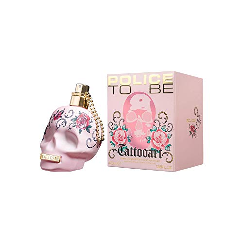 Police To Be Tattooart Eau de Parfum For Her, 40 ml