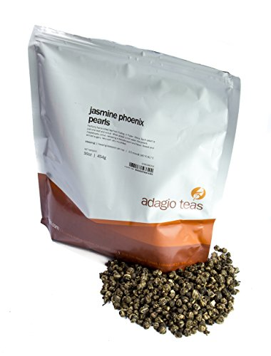 Adagio Teas Jasmine Pearls Loose Green Tea, 16 oz.
