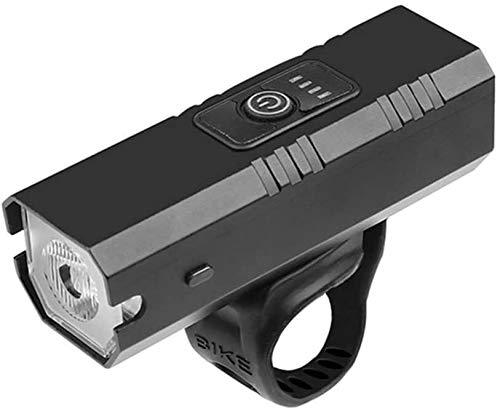 FANLIU Fahrrad-Licht-10W 800LM 6 Modi USB Aufladbare T6 LED-Netzteil Anzeige MTB Mountain Road Scheinwerfer Reitausrüstung