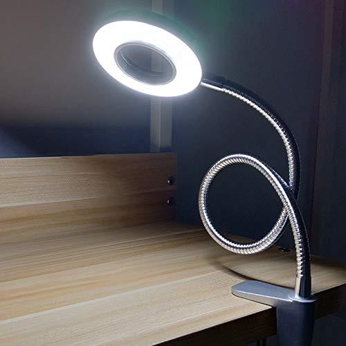 YU-K Lampe de bureau à pince lampe de bureau lumière led eye dortoir les élèves à la lumière de lecture clip