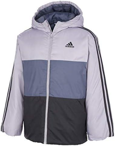 adidas Boys' Hooded Insulated Jacket