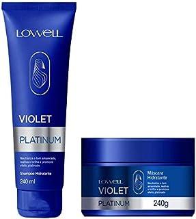 Lowell Violet Platinum Home - Kit 2 Produtos