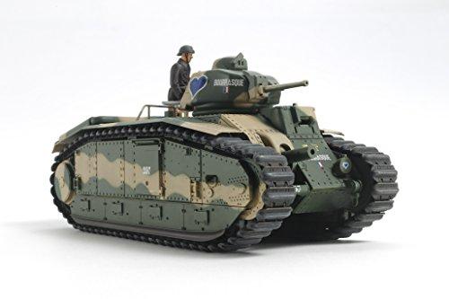 Tamiya 300030058 - 1:35 WWII francesi Serbatoi B1 a (Motore).