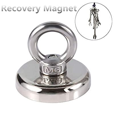 Recovery Magnet Hook Strong M6 River Lake Salvage Fishing Sea Treasure Hunting Tool