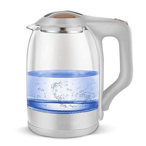 Rapid Kook Verlicht Glass Jug Kettle met Droogkookbeveiliging, automatische uitschakeling, Duurzaam SCHOTT Glas, Quiet