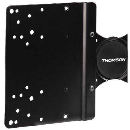 Thomson TV Wandhalterung, Move, für 25 - 94 cm (10 - 37 Zoll) Fernseher, max.25 kg, Schwarz