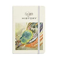 ピーコックガール中国のアンティークのイラストレーター 歴史ノートクラシックジャーナル日記A 5