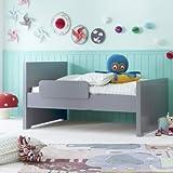 Alfred & Compagnie - Cama Infantil evolutiva 90 x 140/170/200 Gris Koala